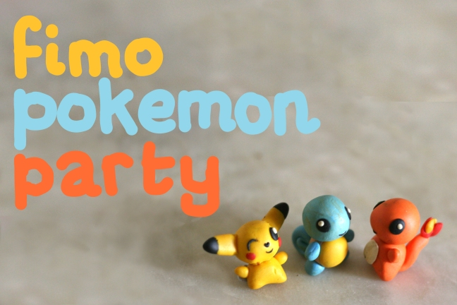 fimo-pokemone-party